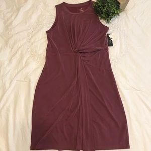 Worthingtong Burgundy Sandwash dress size Large